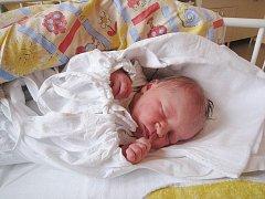 Sofie Konečná, nar. 7. 12. 2010, 48 cm, 3, 34 kg, Kopřivnice, nemocnice Nový Jičín