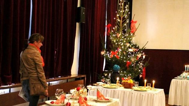 První ročník prodejní výstavy s názvem Vánoční inspirace proměnil na tři dny sály Dělnického domu v Odrách v místo, kde vládla pohoda a kde nebyla nouze o krásu.