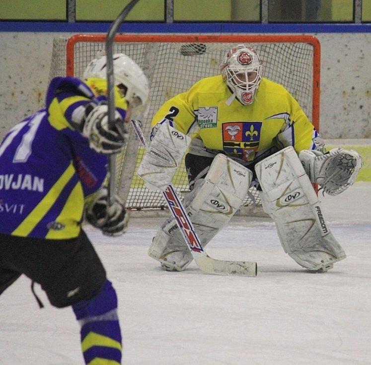 Snímky z utkání HC Studénka – HK Krnov 2:4 (1:3, 0:0, 1:1).