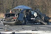 Tragická nehoda u Palačova, místní části Nového Jičína.