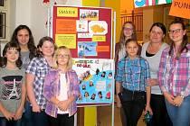 Smajlik na ZŠ TGM v Bílovci také letos zaujal porotu projektu.