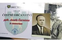 TITUL čestný občan Mořkova byl udělen Josefu Černému jako prvnímu občanu obce.