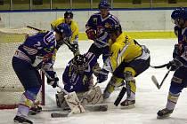 Hokejisté Studénky porazili v derby utkání krajské ligy Nový Jičín B.