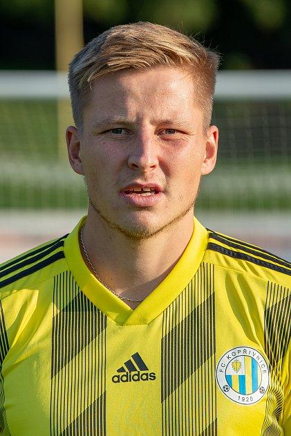 Fotbalový klub FC Kopřivnice, 24.září 2020.Jan Ermis - obránce