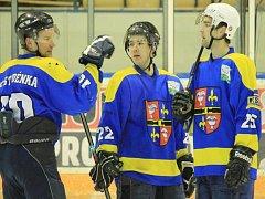 Hokejisté Studénky. Ilustrační foto.