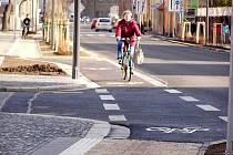 Také v Kopřivnici bude jízda na kole, díky nově vzniklým cyklostezkám, bezpečnější.