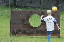Fotbalgolfové hřiště. Ilustrační foto.