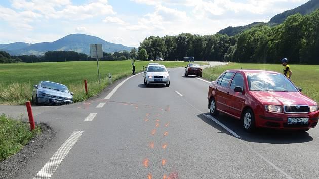 K dopravní nehodě došlo ve středu 3. července v obci Tichá na Novojičínsku.