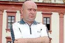 Kastelán zámku Kunín Jaroslav Zezulčík.