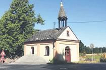 Kaple sv. Martina v Nových Dvorech.