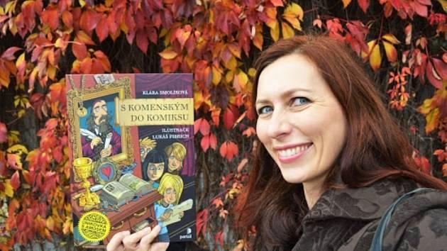 Autorkou komiksu o Komenském je Klára Smolíková, ilustroval jej Lukáš Fibrich.