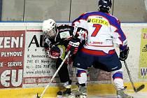 Hokejisté HC Nový Jičín B v utkání s Rožnovem na body nedosáhli.