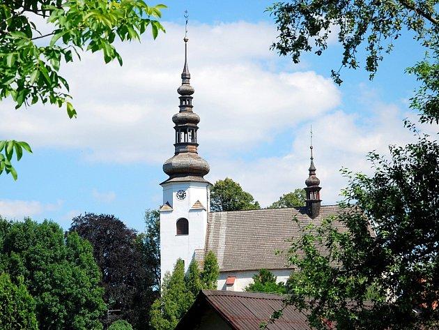 Katolický kostel v Suchdole nad Odrou. Ilustrační foto.
