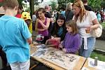 První ZUŠFEST uspořádala Základní umělecká škola v Odrách v místním Zámeckém parku.