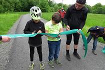 Ve Frenštátě pod Radhoštěm otevřeli ve čtvrtek 27. května 2021 oficiálně cyklostezku. Dřívějšímu otevření bránila opatření spojená s vládními nařizeními kvůli pandemii Covid-19.