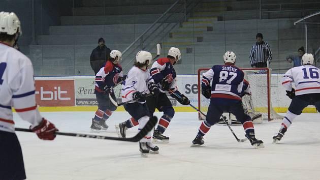 Poprvé vítězní. Po dvou prohrách se Novému Jičínu povedlo konečně v této sezoně ovládnout derby z Kopřivnicí.