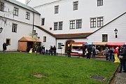 Velikonoční jarmark se uskutečnil v sobotu 13. dubna na nádvoří a ve vnitřních prostorách Žerotínského záku v Novém Jičíně.