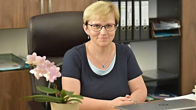 Starostka Mankovic Martina Blažková.