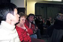 Schůze obyvatel Libhoště. Ilustrační foto.