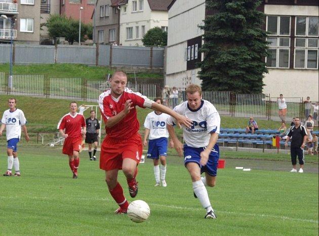 Novojičínští fotbalisté dovedli utkání předkola Poháru ČMFS proti Frenštátu pod Radhoštěm do zdárného konce. V prvním kole nastoupí proti třetiligovému Frýdku–Místku.