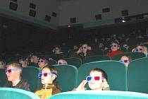 Takzvané 3D brýle diváci v kopřivnickém kině Puls použije nejdříve po skončení letních prázdnin. Ilustrační foto.