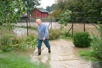 Velká voda v pátek zalila řadu míst v okrese. Nejhorší situace byla v Bravanticích.