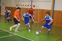Čtrnáctý ročník turnaje O pohár předsedy řídící komise ČMFS pro Moravu se uskuteční v pátek a sobotu ve sportovní hale v Bílovci. Mezinárodní turnaj je největší akcí, kterou letos pořádá Moravskoslezský fotbalový svaz. Ilustrační foto.
