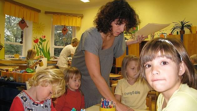 V mateřské škole chtějí zřídit logopedickou třídu.