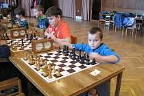 Okresní šachová liga mládeže v Mořkově.