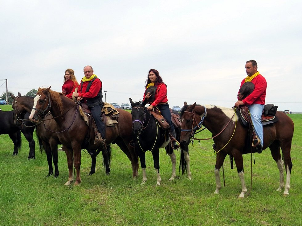 Suchdol nad Odrou se stal 13. září 1985 cílovým místem vůbec první jízdy Československého Ponny expresu, jehož čtyřistakilometrový úsek začínal ve Stříbrné Lhotě u Mníšku pod Brdy.