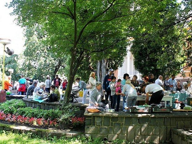 Restaurant Day v Kopřivnici.