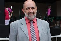 Předseda osadního výboru Lukavce, Aleš Ohnheiser.