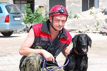 Eduard Němec z Prahy se psovodství věnuje již devět let.