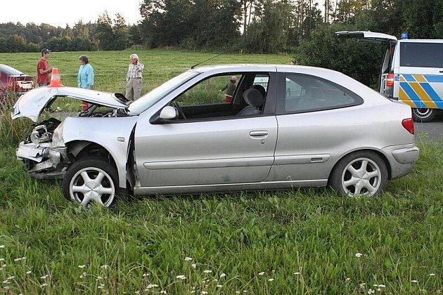Na velkou rychlost zřejmě doplatil ve čtvrtek 19. srpna v podvečer mladý řidič při své cestě z Fulneku do Suchdola nad Odrou.