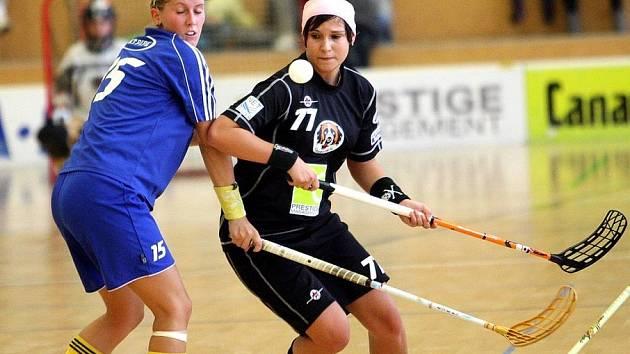 Florbalistky FBC Vikings Kopřivnice odstartovaly sezonu domácím turnajem. Ilustrační foto.