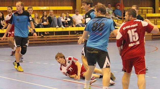 KH Kopřivnice - Handball KP Brno 28:26