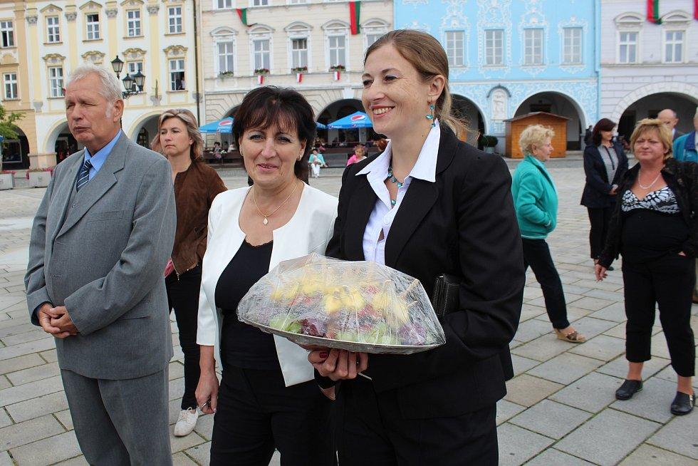 Ve středu 6. září přijel, v rámci páté oficiální návštěvy Moravskoslezského kraje, prezident Miloš Zeman také do Nového Jičína.