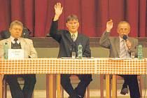 Místostarosta Martin Monsport (uprostřed) v nejbližších dnech podá rezignaci.