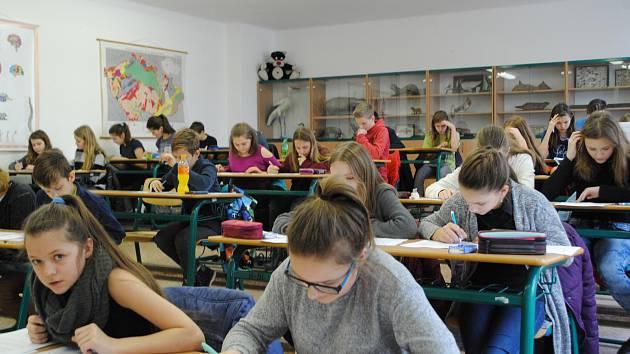 Přijímací zkoušky nanečisto se setkávají s dobrými ohlasy v celém Česku. Ilustrační foto.