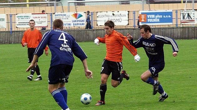 Hráči Fulneku nestačili ve 12. kole Moravskoslezské ligy na Sulko Zábřeh a prohráli 0:2.