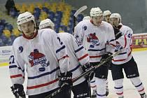 Další vítězství mohli oslavit hokejisté Nového Jičína, tentokrát se radovali na ledě Moravských Budějovic.