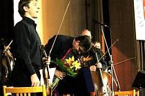 Janáčkova filharmonie Ostrava zahrála filmové melodie na koncertu Pocta městu, který se uskuečnil v úterý 30. října v kině ve Frenštátě pod Radhoštěm.