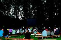 Frenštátský kemp se v sobotu proměňuje v kino.