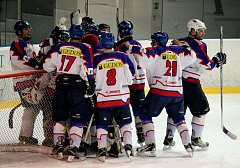 Nový Jičín B porazil Krnov a postoupil do semifinále krajské hokejové ligy.