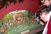 Štramberské Vánoce se jmenuje výstava, která začala v neděli 13. listopadu v Městské galerii Městského informačního centra Štramberk. Hlavními exponáty jsou betlémy.