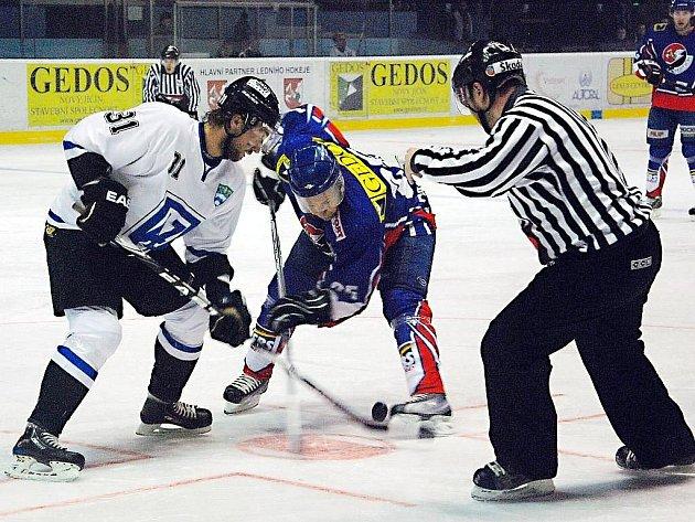Snímky z utkání HC Gedos Nový Jičín – AZ Havířov 3:1.