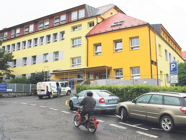 Městská nemocnice v Odrách.