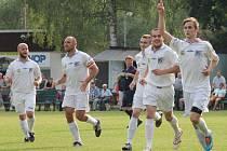 Vítězství Jakubčovic v prvním utkání, po postupu do I. A třídy, načal ve 39. minutě útočník Ďurica.