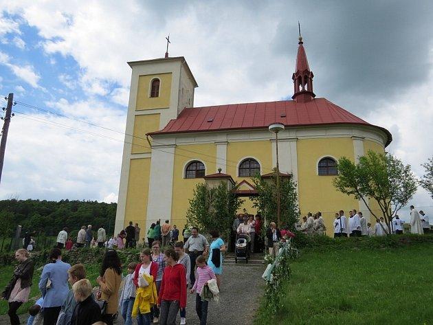 Primiční mše svatá v Lukavci