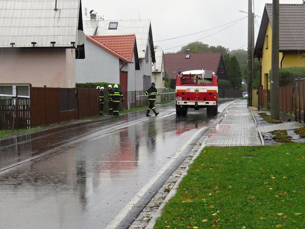 Vážně vypadala ve středu 14. října dopoledne situace v Bravanticích.
